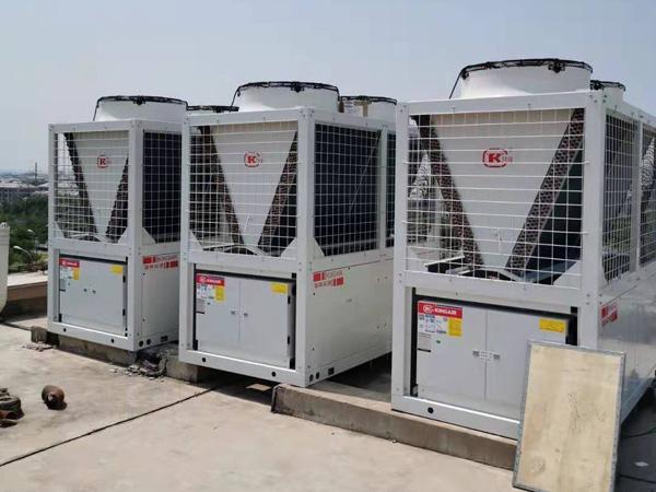 北京怀柔空气源热泵现场
