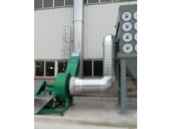 廊坊市凯博建筑机械有限公司除尘设备施工现场